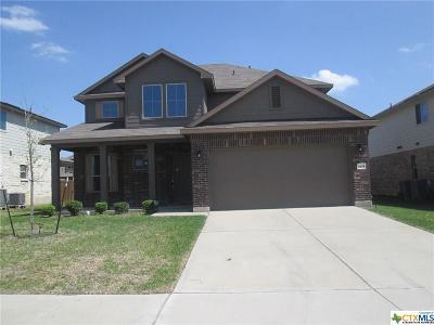 Killeen TX Single Family Home For Sale: $170,000