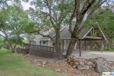 Canyon Lake Single Family Home For Sale: 4295 Morningside