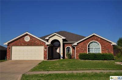 Killeen TX Single Family Home For Sale: $199,900