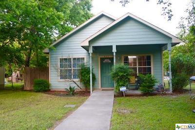 Seguin Single Family Home Pending Take Backups: 403 Vera Cruz Street
