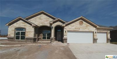 Harker Heights TX Single Family Home For Sale: $318,000