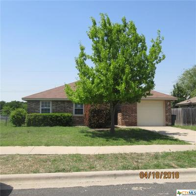 Killeen Single Family Home For Sale: 2607 Cross Timber Drive