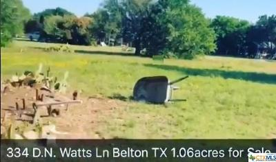 Belton TX Single Family Home For Sale: $140,000