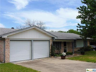 Copperas Cove Single Family Home For Sale: 1603 Pleasant Lane