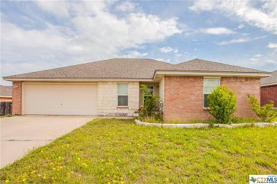 Killeen Single Family Home For Sale: 1305 Copper Creek