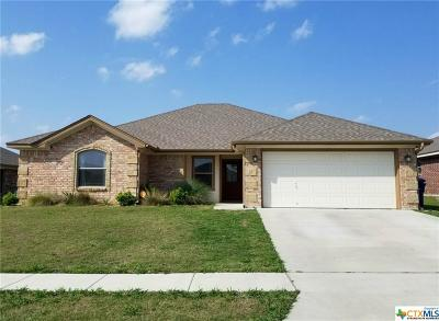 Copperas Cove Single Family Home For Sale: 3406 Lucas Street