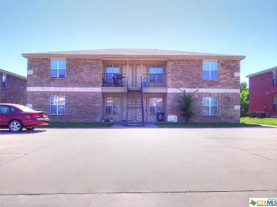 Harker Heights TX Multi Family Home For Sale: $219,900