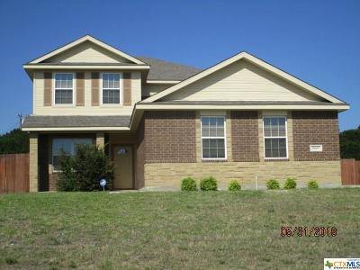 Harker Heights Single Family Home For Sale: 3909 Walden Creek Crossing