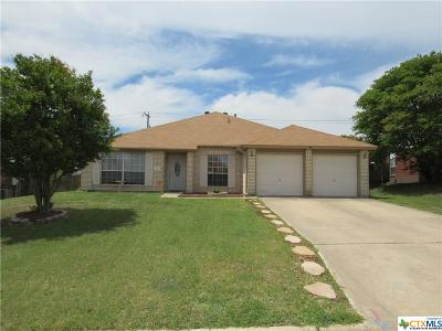 Harker Heights, Killeen, Temple Rental For Rent: 512 Crazy Horse Circle