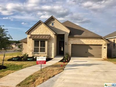 New Braunfels TX Single Family Home For Sale: $447,081