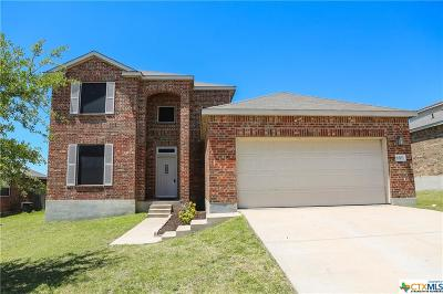 Killeen Single Family Home For Sale: 6303 Bridgewood Drive