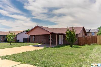 Killeen TX Single Family Home For Sale: $89,000