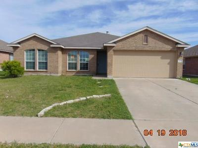 Killeen TX Single Family Home Pending: $133,500