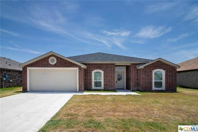 Killeen TX Single Family Home For Sale: $187,999