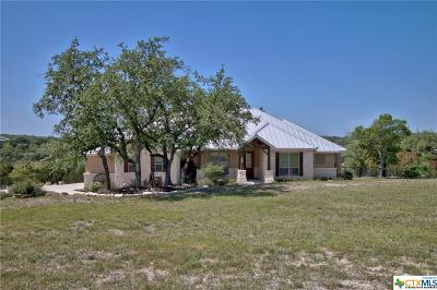 Canyon Lake Single Family Home For Sale: 2373 Comal Sprgs