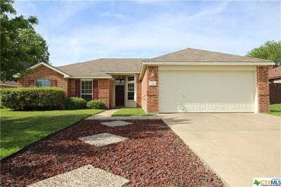Killeen Single Family Home For Sale: 2910 Bastion Loop