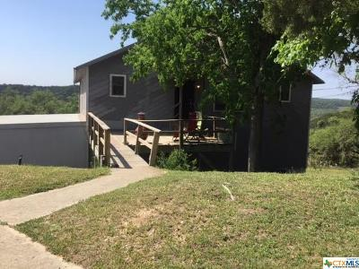 Canyon Lake TX Single Family Home For Sale: $484,900