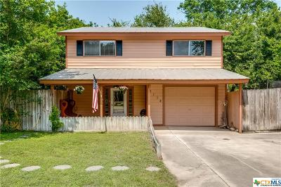 McQueeney TX Single Family Home Pending: $199,000