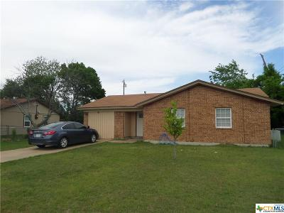 Bell County Single Family Home For Sale: 109 Moss