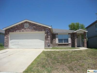 Killeen Single Family Home For Sale: 3203 Blackburn