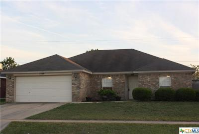 Killeen Single Family Home For Sale: 3400 Gus