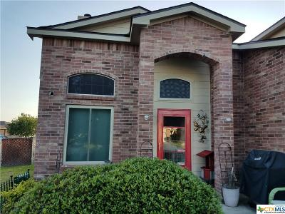 Killeen TX Single Family Home For Sale: $140,000