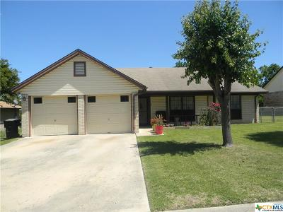 Killeen Single Family Home For Sale: 3306 Tallwood