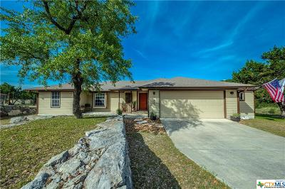 Canyon Lake TX Single Family Home For Sale: $350,000