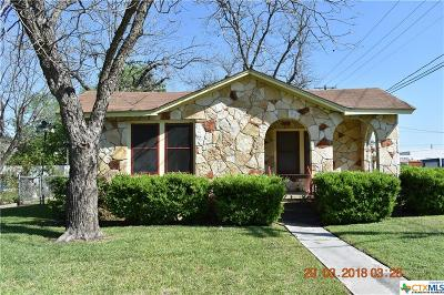 New Braunfels Single Family Home For Sale: 1195 Coll Street