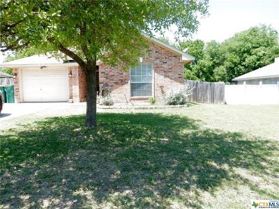 Belton Single Family Home For Sale: 1001 Concho