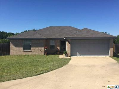 Harker Heights Single Family Home For Sale: 609 Jorgette