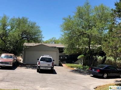 Canyon Lake Single Family Home For Sale: 1012 Willow