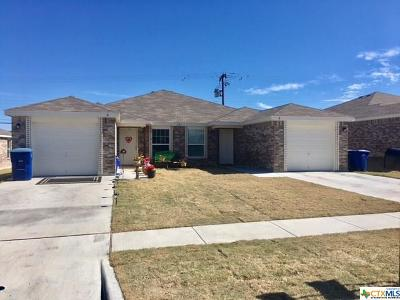 Copperas Cove Multi Family Home For Sale: 221 Gibson #A-B