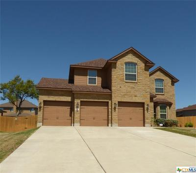 Harker Heights Single Family Home For Sale: 817 Siena Court