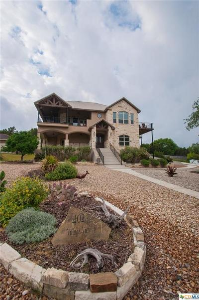 Canyon Lake Single Family Home For Sale: 402 Village View Drive