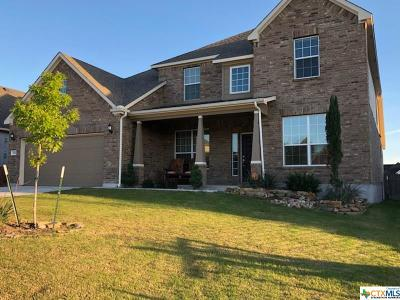 Harker Heights Single Family Home For Sale: 814 Green Meadows