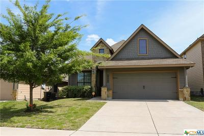 Killeen Single Family Home For Sale: 3402 Castleton Drive