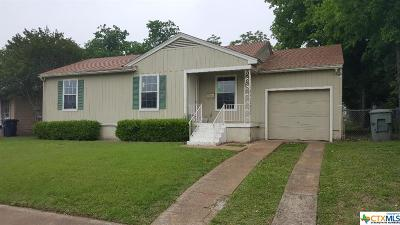 Killeen Single Family Home For Sale: 1701 24th Street