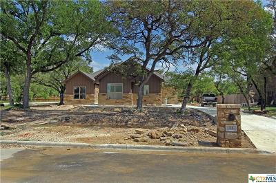 Belton Single Family Home For Sale: 33 Cedro