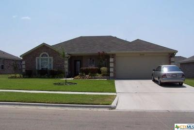 Copperas Cove Single Family Home For Sale: 2412 Jake Drive