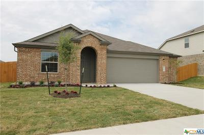 Killeen Single Family Home For Sale: 3706 Endicott