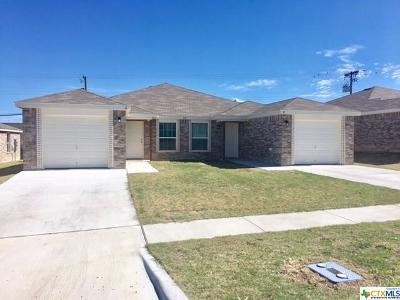 Copperas Cove Multi Family Home For Sale: 223 Gibson #A-B