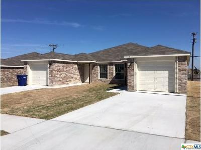Copperas Cove Multi Family Home For Sale: 225 Gibson #A-B