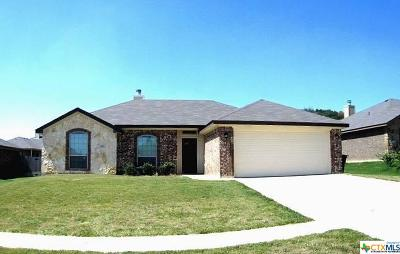 Killeen TX Single Family Home For Sale: $166,500