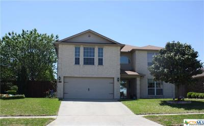 Killeen Single Family Home For Sale: 5814 Durango Drive