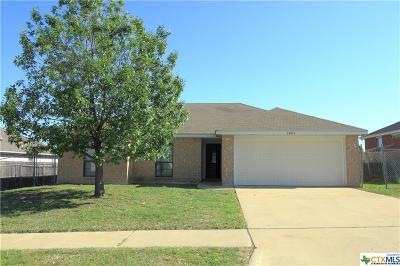 Killeen Single Family Home For Sale: 2603 Bigleaf