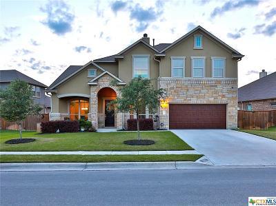 Round Rock Single Family Home For Sale: 2710 San Milan
