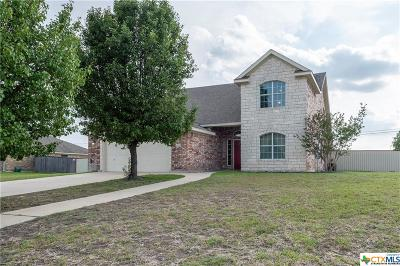 Killeen Single Family Home For Sale: 1015 Tumbleweed