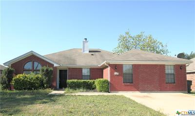 Killeen Single Family Home For Sale: 2706 Westwood Drive