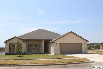 Copperas Cove Single Family Home For Sale: 1042 Republic Circle